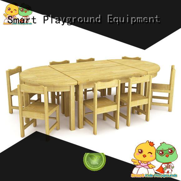 Environmental childrens school desk popular special design for nursery
