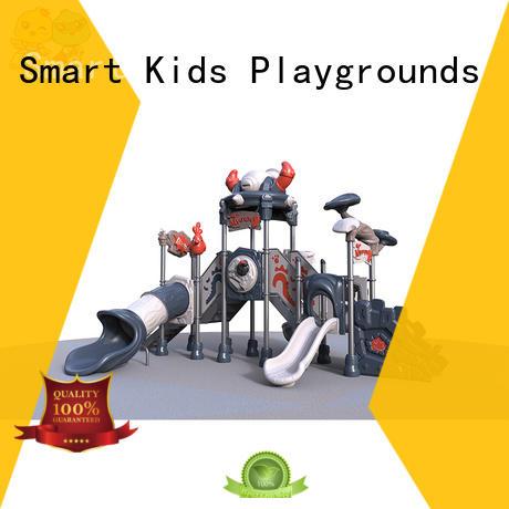 Smart Kids Playgrounds Brand amusement kids slide wooden factory