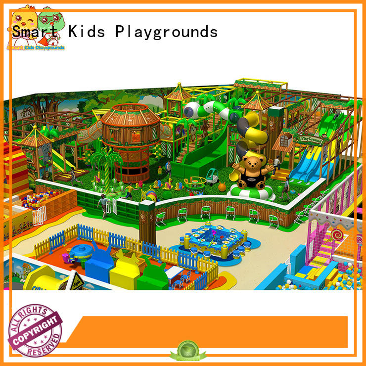 Smart Kids Playgrounds durable jungle theme playground theme for Kindergarden
