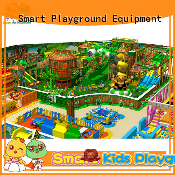 jungle theme playground factory price for play centre Smart Kids Playgrounds