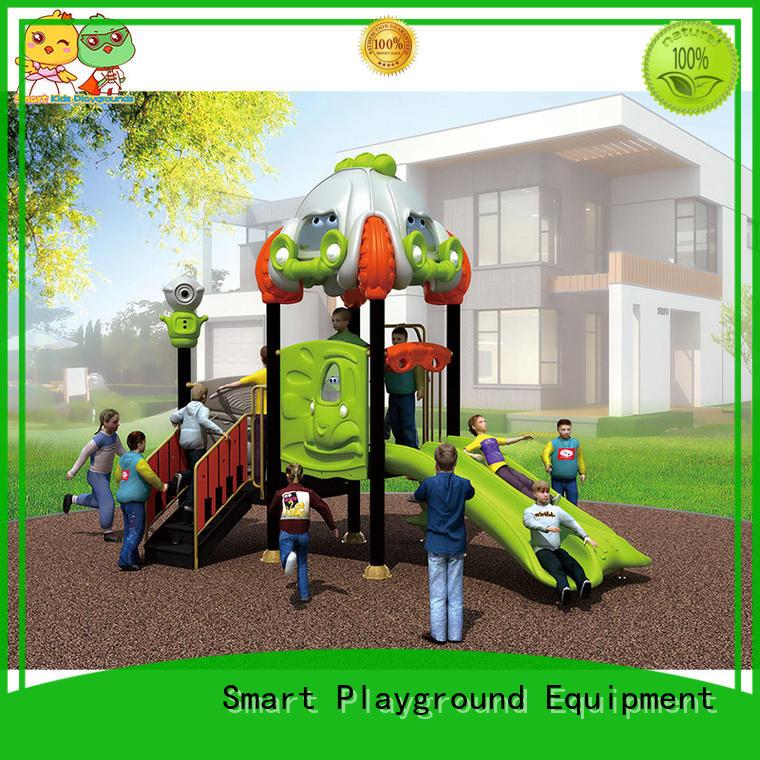 SKP playground plastic slide directly sale for kindergarten
