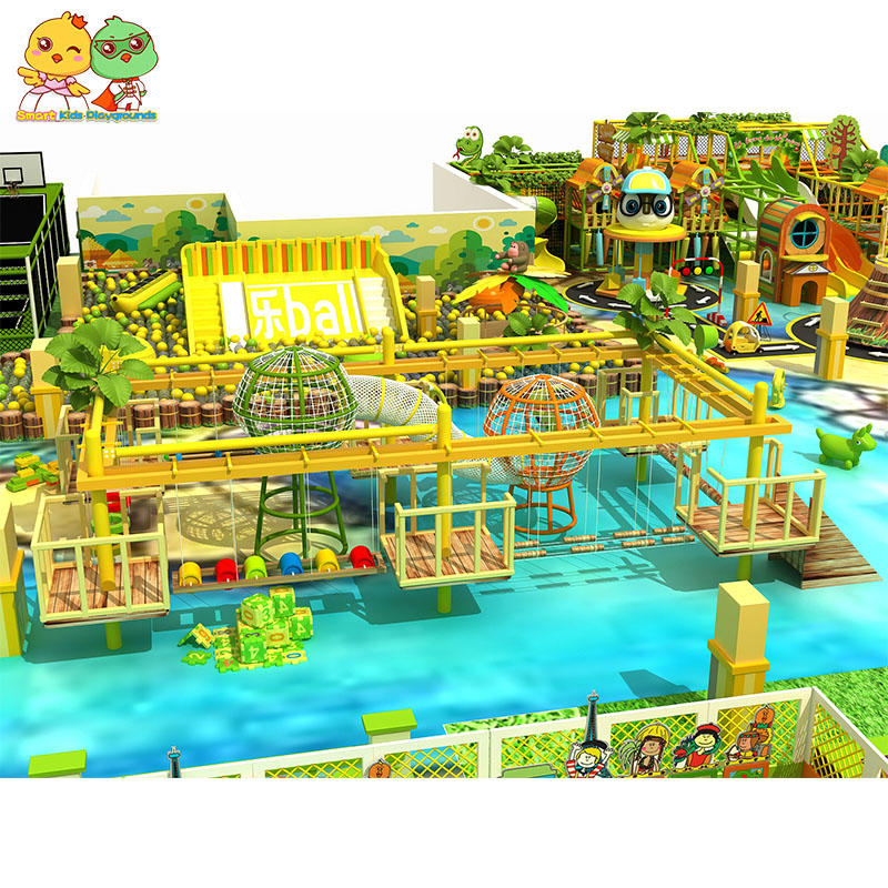 Amusement park safety kids indoor playground for happy SKP-1807005