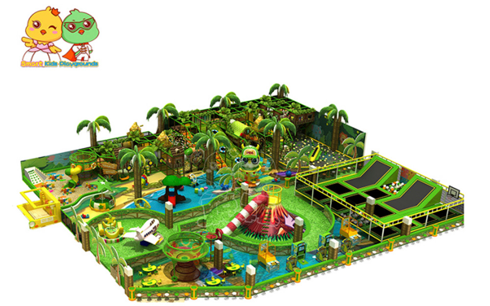 SKP facilities jungle theme playground directly price for play centre-1