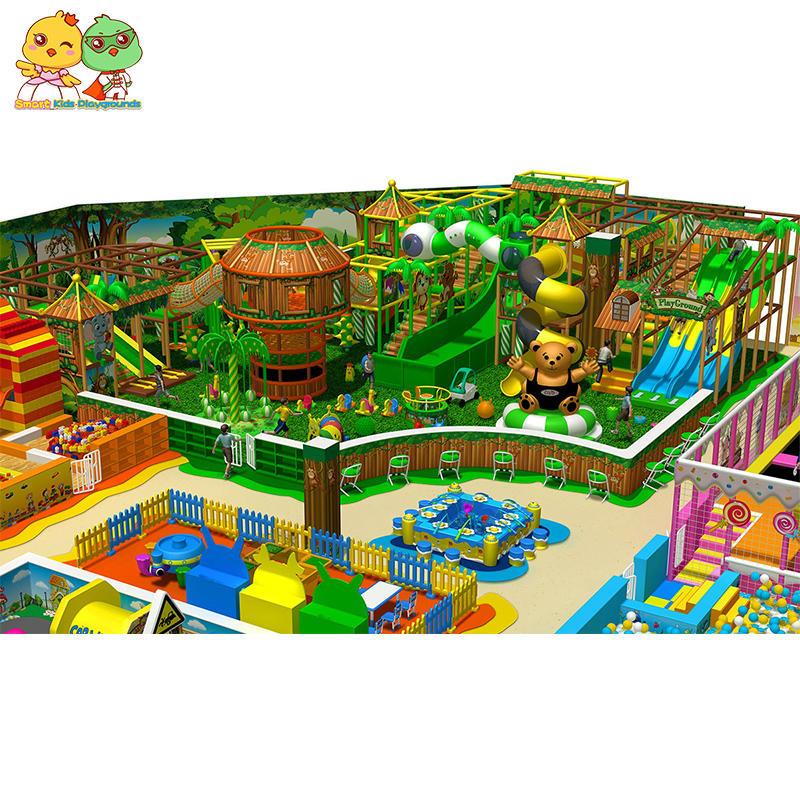 Children activities indoor playground facilities for sale SKP-1810241