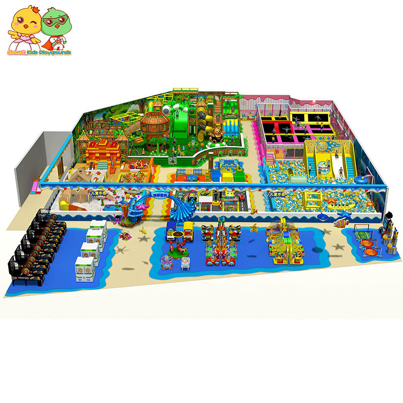 Children activities indoor playground facilities for sale SKP-1810241
