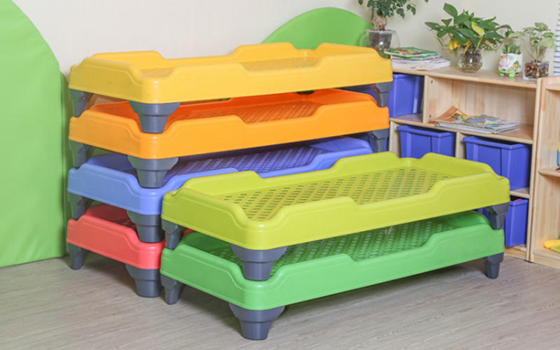 SKP popular childrens wooden table and chairs supplier for nursery