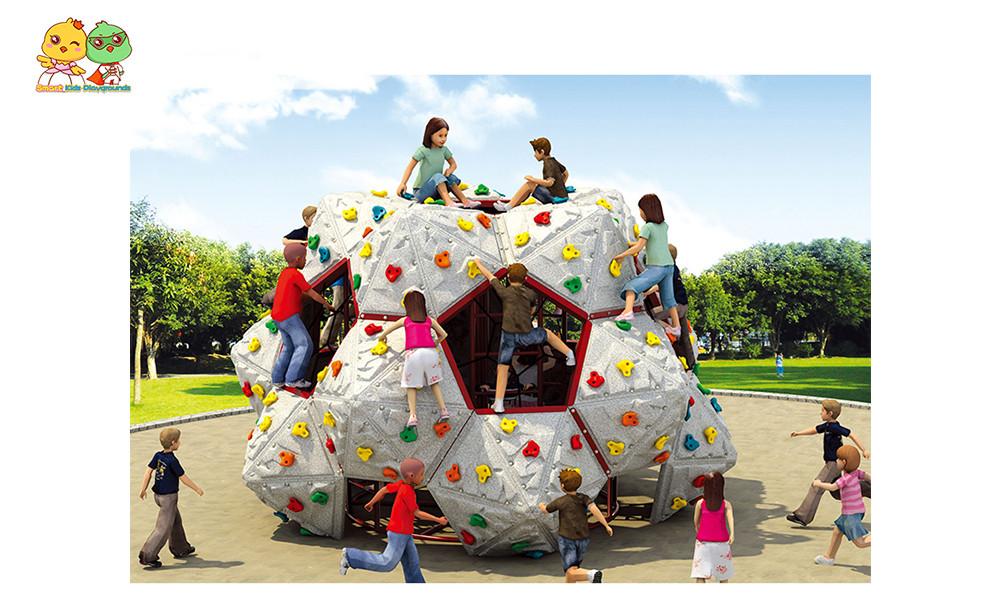 SKP amusement climbing wall safety for fairground-1