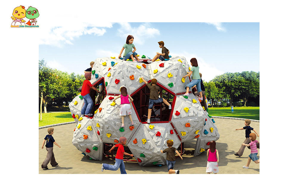 SKP rock climbing wall for park