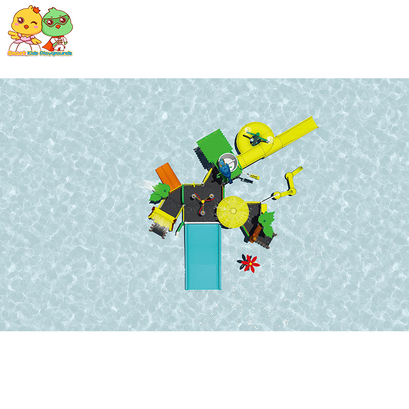colorful water park equipment items factory price for playground-2