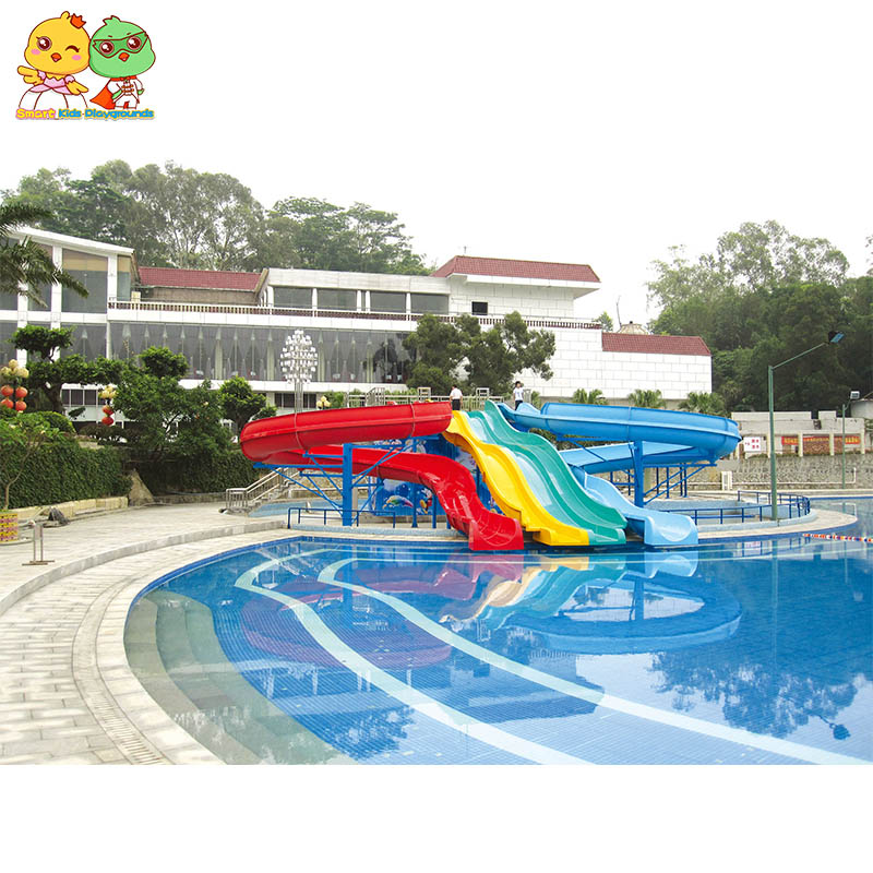security water slides play simple assembly for playground-1