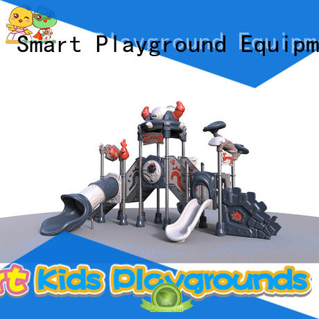 Smart Kids Playgrounds high quality kids slide amusement for residential area