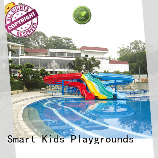 Smart Kids Playgrounds durable pool water slide for body strong for amusement park