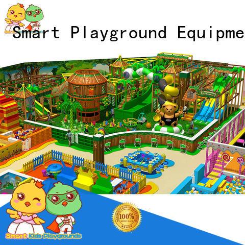 Smart Kids Playgrounds Brand park children ce jungle theme playground manufacture