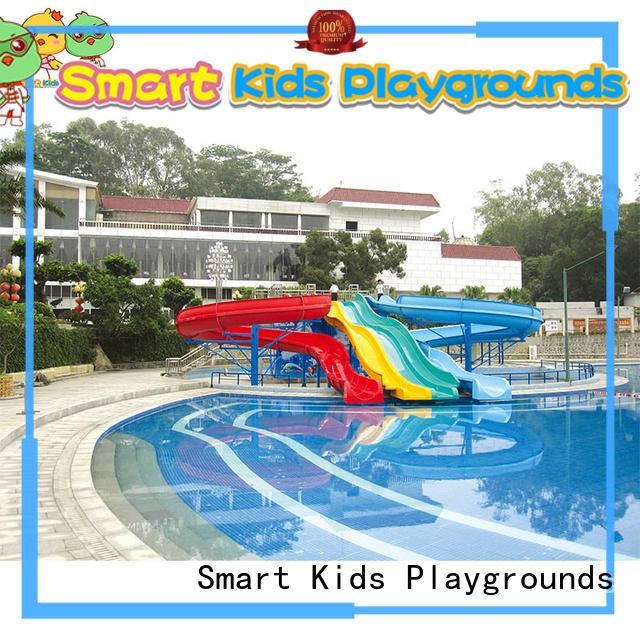 Wholesale play slide water park equipment Smart Kids Playgrounds Brand