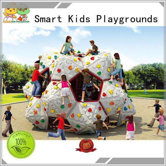 Smart Kids Playgrounds Brand galvanize-plated park rock kids climbing