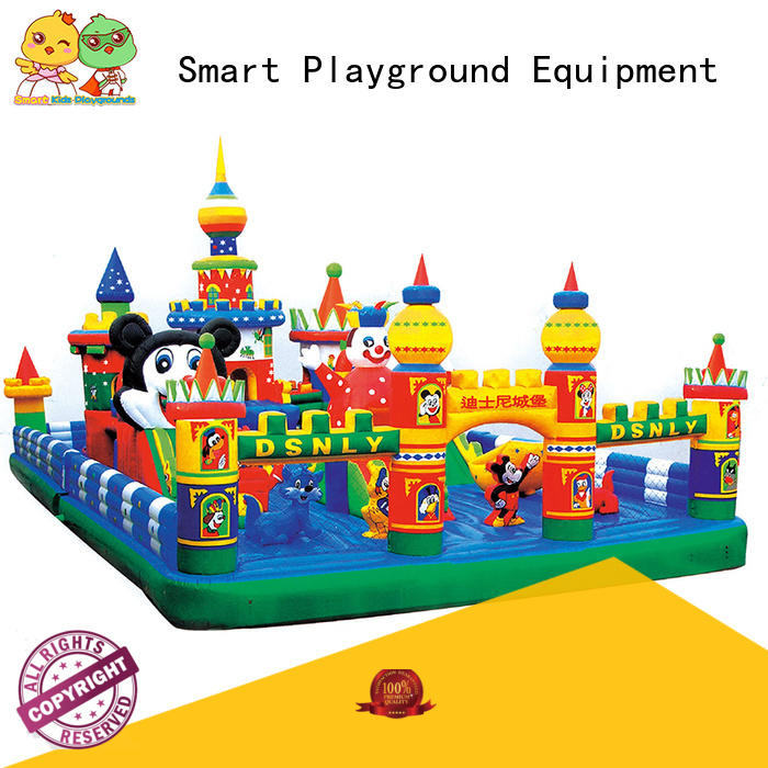swimming pool toys warranty kids Smart Kids Playgrounds Brand inflatable toys
