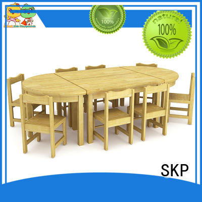 durable preschool furniture wooden supplier for Kids care center