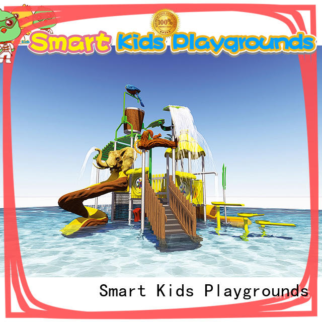 play blow up water slide aqua for playground Smart Kids Playgrounds