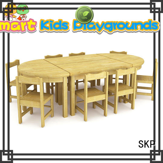 ce childrens wooden table and chairs high quality for Kids care center SKP
