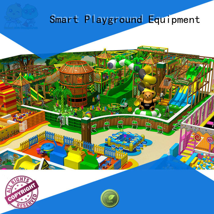 SKP high quality jungle theme playground puzzle game for play house