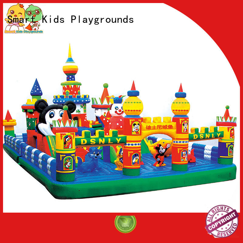 customized castle swimming pool toys children warranty Smart Kids Playgrounds Brand