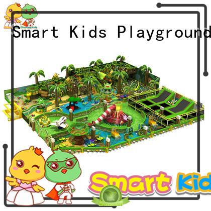 plastic jungle gym trampoline ce play Smart Kids Playgrounds Brand