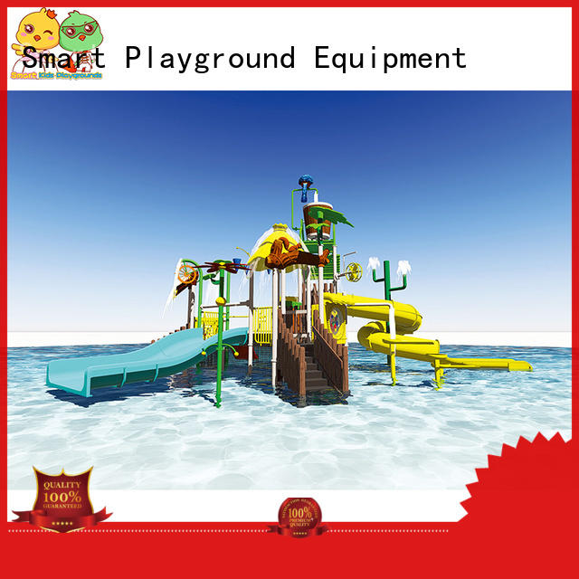 Quality Smart Kids Playgrounds Brand blow up water slide play items