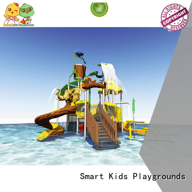 Children water park equipment play slide SKP-1811022