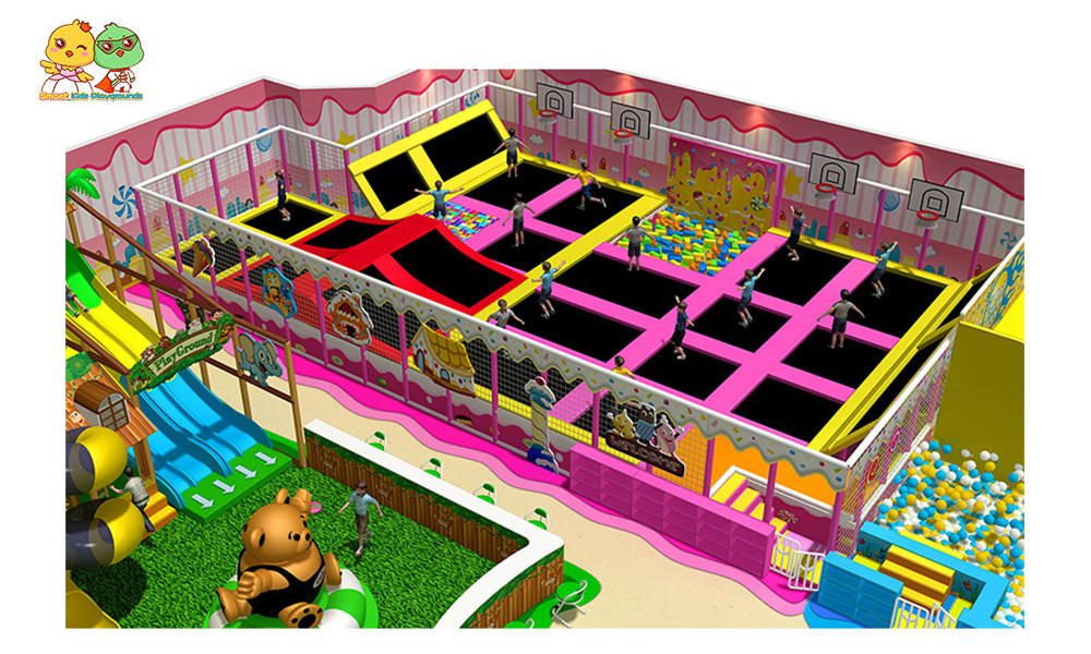 SKP amusement jungle gym playground puzzle game for playground-1