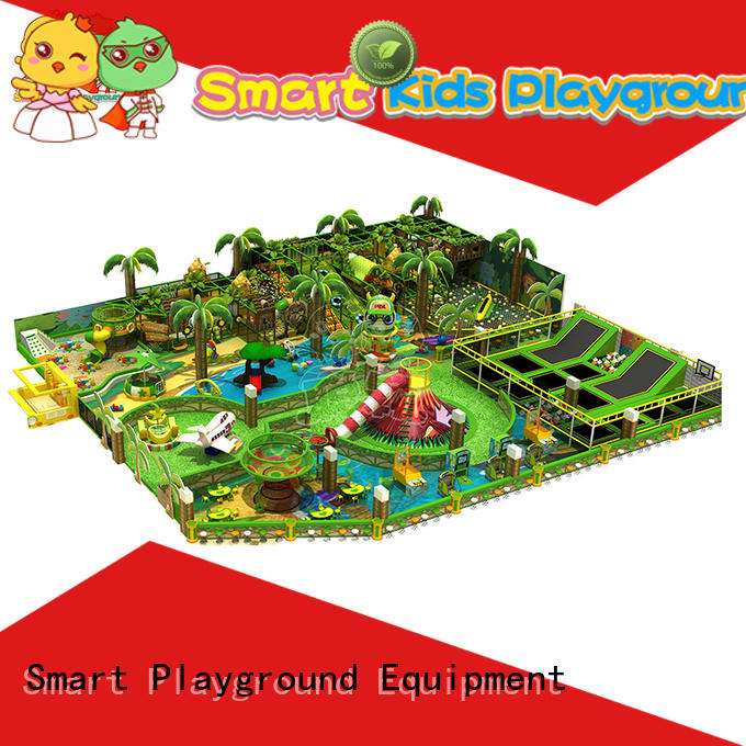 Smart Kids Playgrounds happy plastic jungle gym for fun for plaza