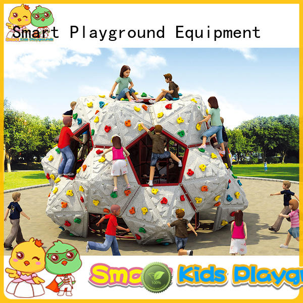 tubes aluminum Smart Kids Playgrounds Brand kids climbing factory