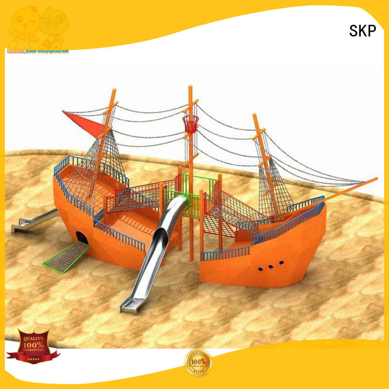 SKP safe tube slide directly sale for restaurant