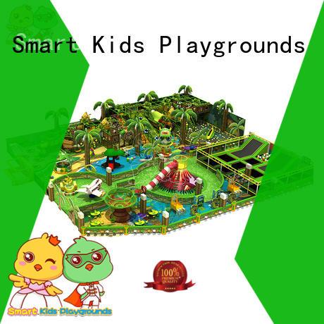 Hot activities plastic jungle gym amusement Smart Kids Playgrounds Brand