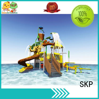 SKP slide water park playground high quality for plaza