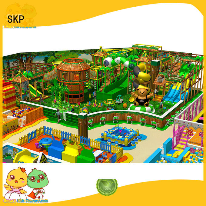 SKP kids jungle theme playground directly price for plaza