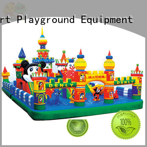 warranty children castle inflatable toys Smart Kids Playgrounds Brand