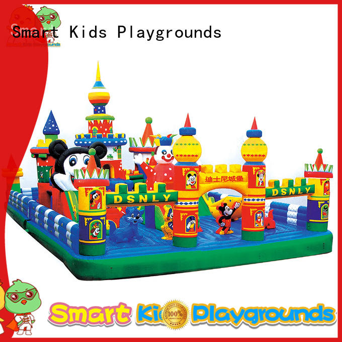 Custom castle playground inflatable toys Smart Kids Playgrounds kids