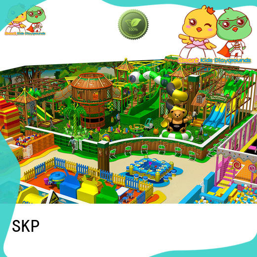 SKP amusement jungle gym playground puzzle game for playground