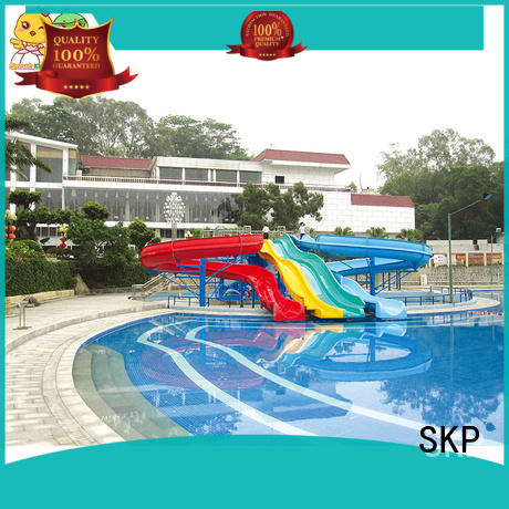 SKP security park water slides factory price for play centre