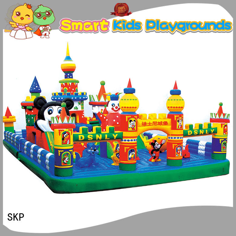 SKP soft inflatable toys promotion for playground