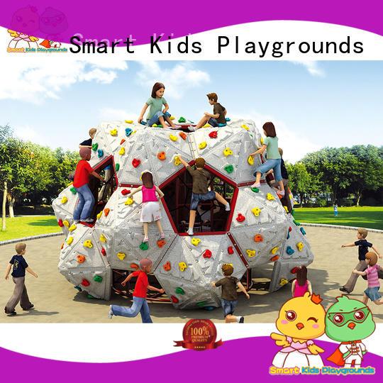 Smart Kids Playgrounds Brand hot galvanize-plated kids climbing rock supplier