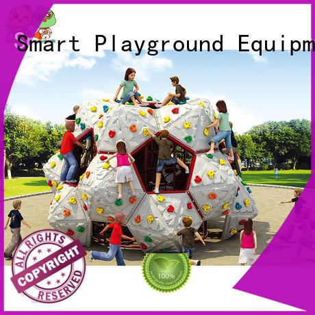 outdoor climbing equipment manufacturer for fairground Smart Kids Playgrounds