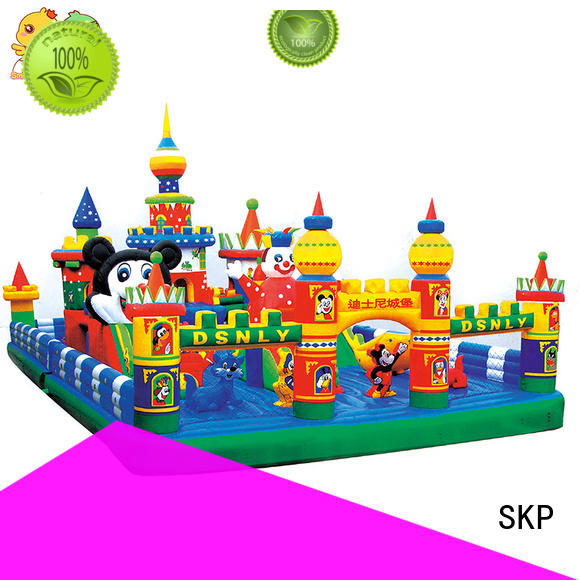SKP inflatable pool toys puzzle game for play area
