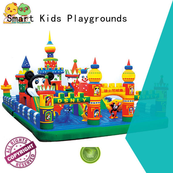 Wholesale warranty inflatable toys Smart Kids Playgrounds Brand