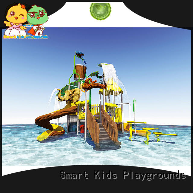 Smart Kids Playgrounds colorful giant water slide slide for amusement park