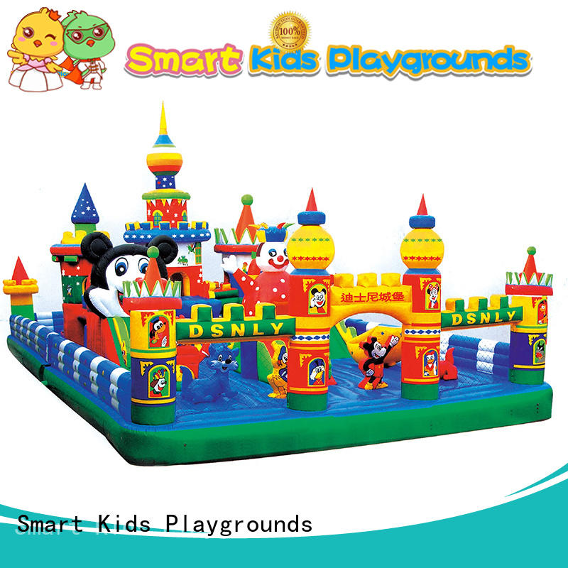 swimming pool toys customized kids inflatable toys Smart Kids Playgrounds Brand