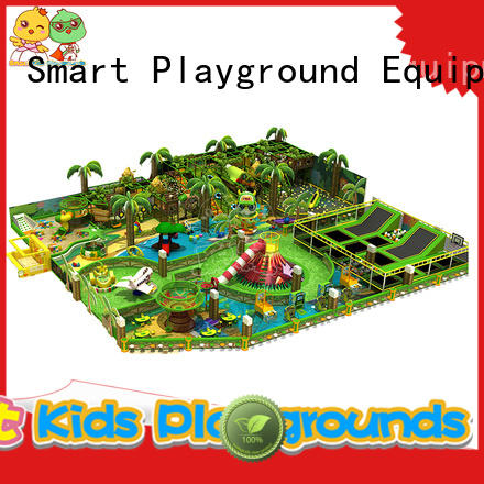 Wholesale approved plastic jungle gym amusement Smart Kids Playgrounds Brand