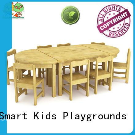 table kids kindergarten furniture wooden Smart Kids Playgrounds company