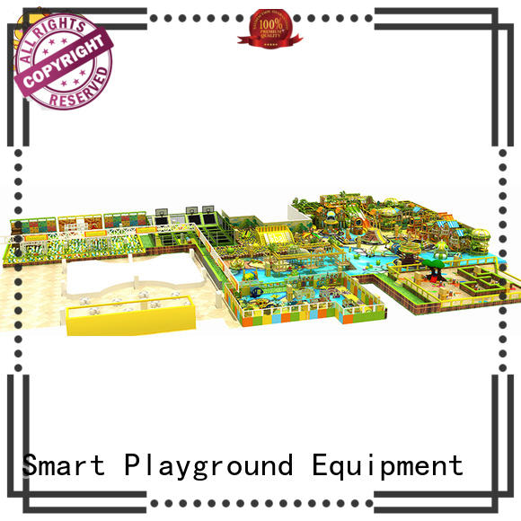 Wholesale area approved jungle theme playground Smart Kids Playgrounds Brand