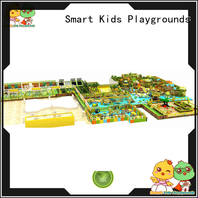 Smart Kids Playgrounds high quality jungle gym play centre for fids for indoor play area